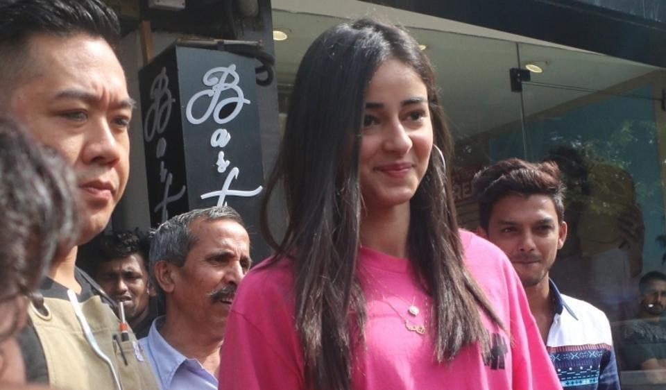 Mumbai: Actress Ananya Pandey seen at Bandra in Mumbai, on June 23, 2019. (Photo: IANS)
