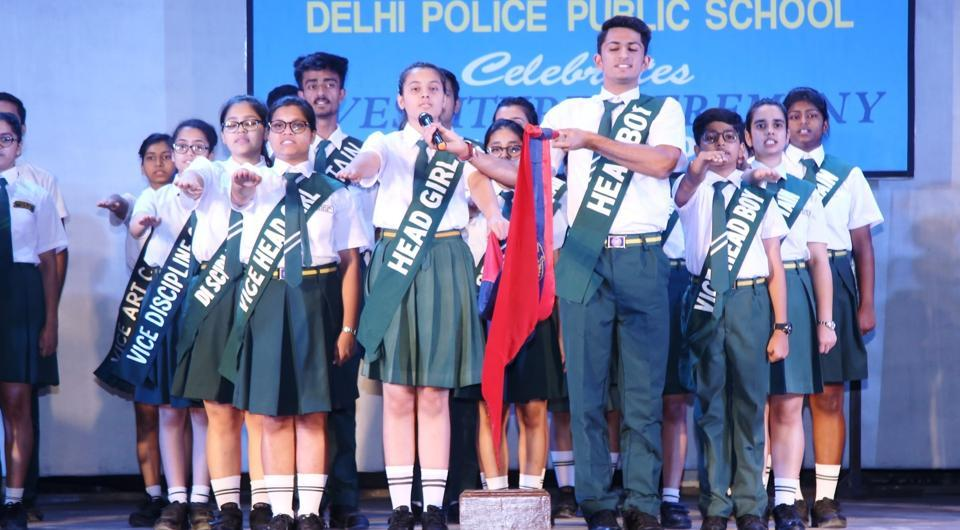 The council of 118 members took an oath to take the school to new heights without compromising on values