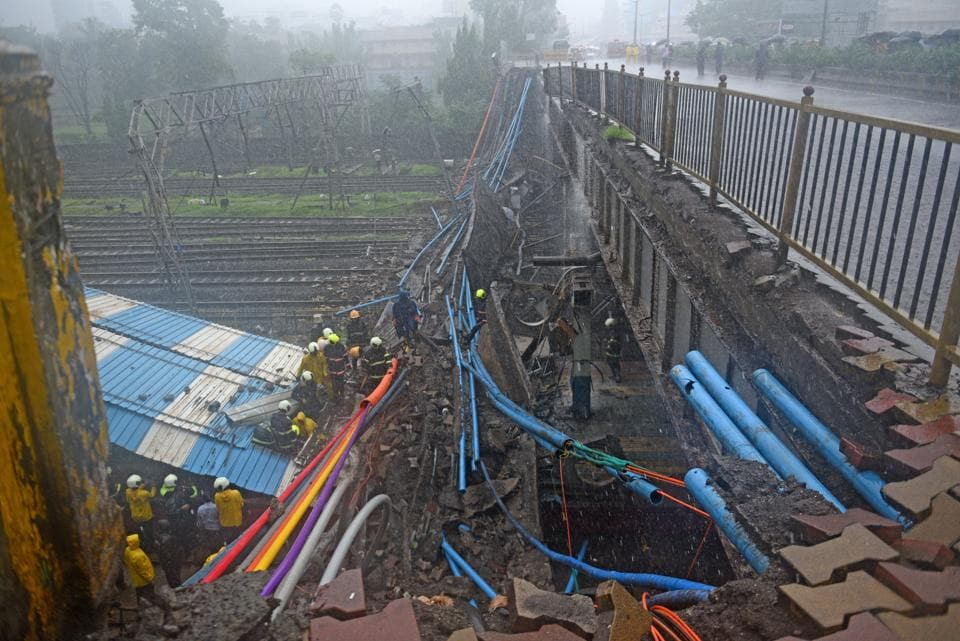 The Gokhale foot over-bridge collapsed on July 3, 2018 at Andheri.