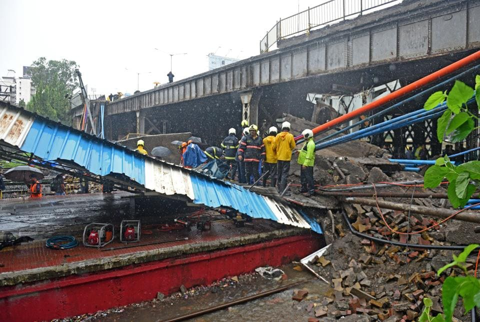 The collapse, on July 3 last year, left two dead and three injured.