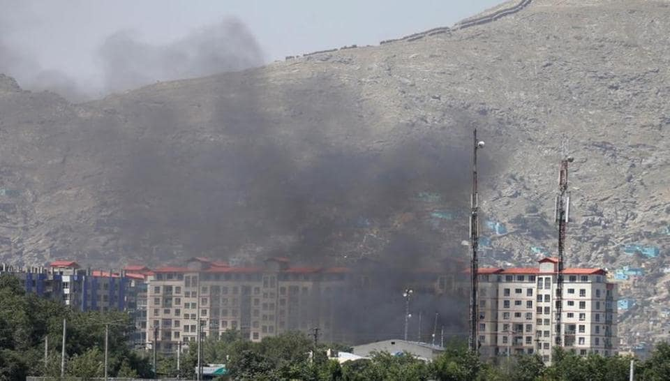 Dozens of people were wounded with fatalities feared as a powerful car bomb rocked Kabul early Monday