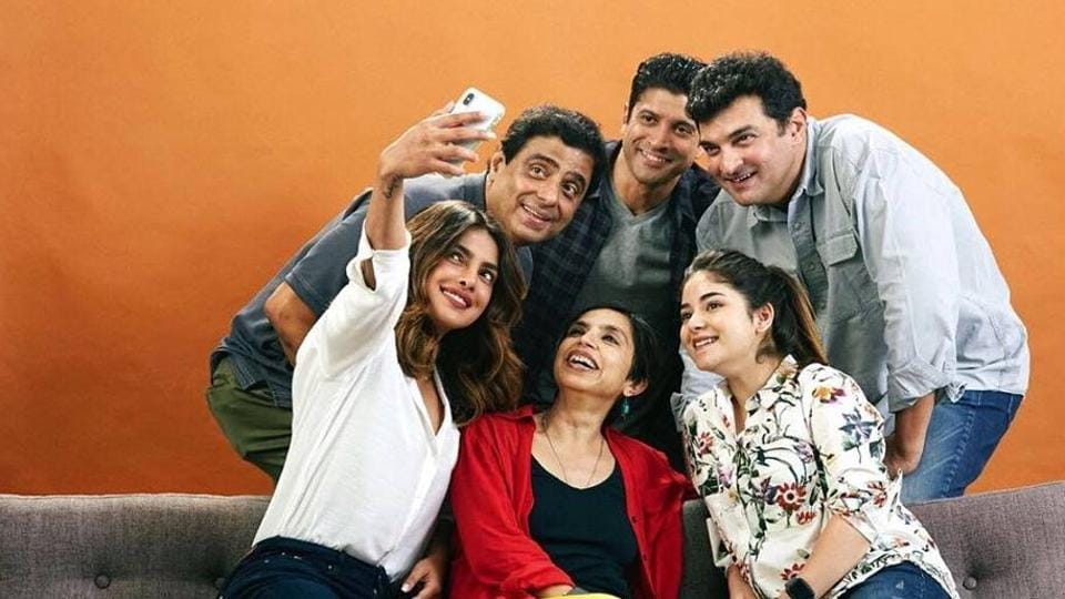 Zaira Wasim will be seen with Priyanka Chopra and Farhan Akhtar in The Sky Is Pink.