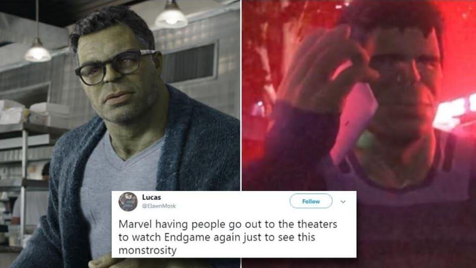 Avengers: Endgame is getting trolled for the Smart Hulk bonus scene.