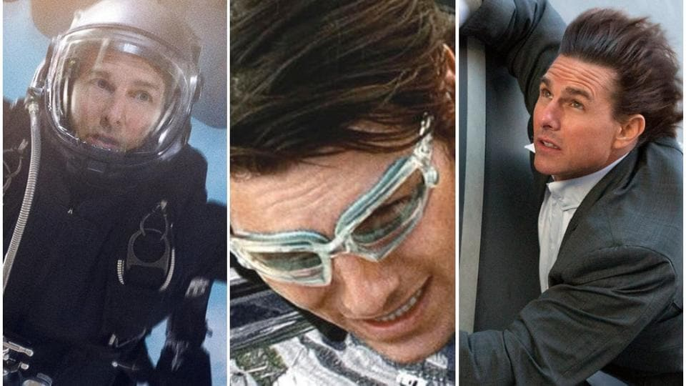 On Tom Cruise's 57th birthday, check out some of his most insane stunts.