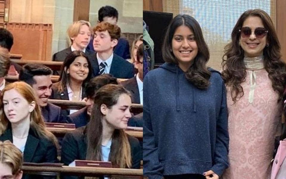 Juhi Chawla turns emotional as daughter Jahnavi graduates
