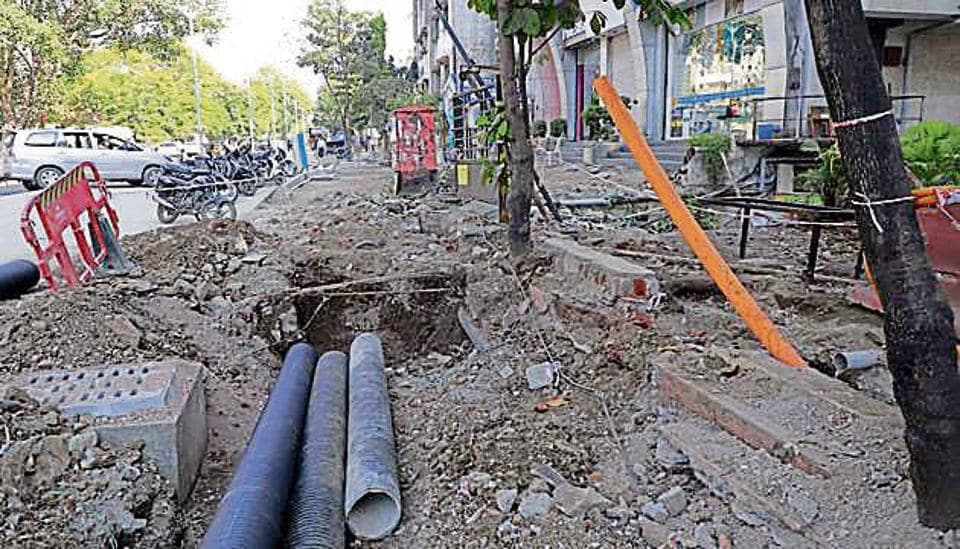 Power utility officials state that their underground cables are getting damaged during the Smart City works.