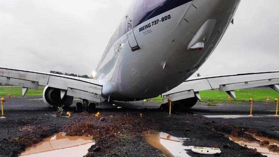 The plane remained stuck on the runway and could not be cleared until late Tuesday as the only Disabled Aircraft Retrieval Kit (DARK) in India was in Mangaluru to clear an Air India Express plane, which overshot the runway there on Sunday.