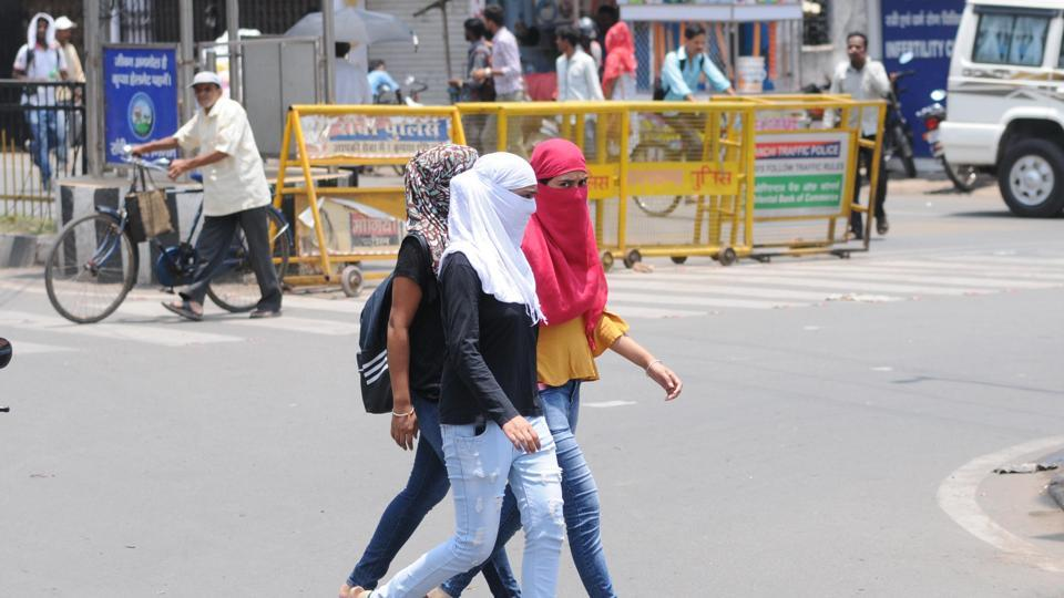 Residents can expect relief on Tuesday, when the mercury is likely to dip by a degree or two, on account of moisture-laden easterly winds forming over the Bay of Bengal that are travelling to the plains.