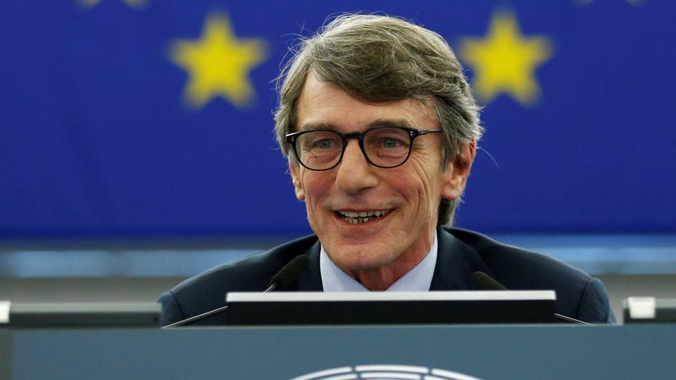Sassoli succeeds fellow Italian Antonio Tajani, an Italian EPP Christian Democrat who stepped down on Wednesday.