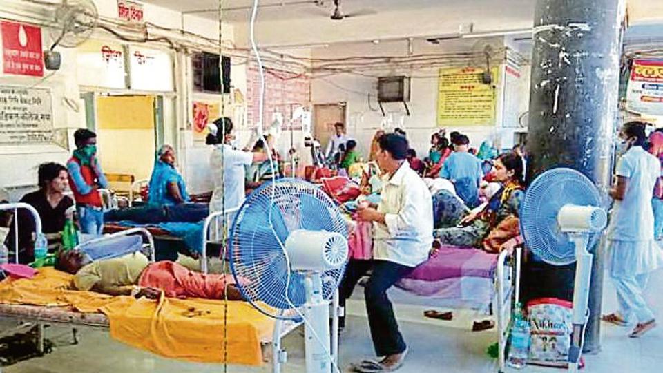 Anugrah Narayan Magadh Medical College and Hospital in Gaya.