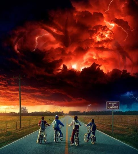 Season 1 started out with a bunch of kids trying to find their missing friend. In Season 3 everything is darker, fiercer, and a lot more gory. 'We're not kids anymore,' one character says. Indeed, there's teen angst, rebellion, raging hormones. But the show has not lost its sense of fun.