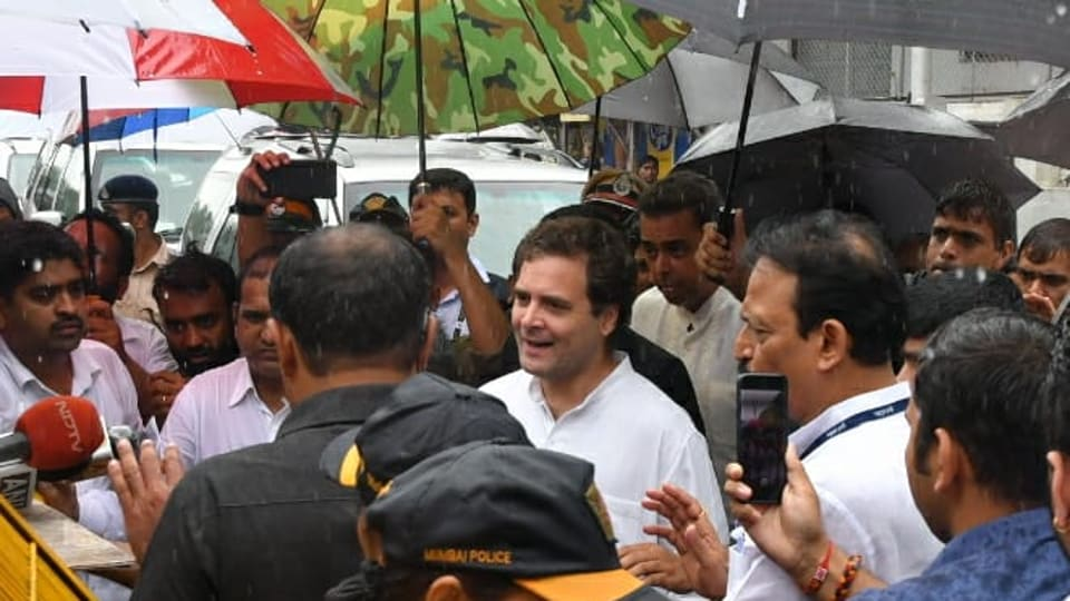 Rahul Gandhi had conveyed his decision to resign from the Congress's top post to the party's top decision-making body,CWC.