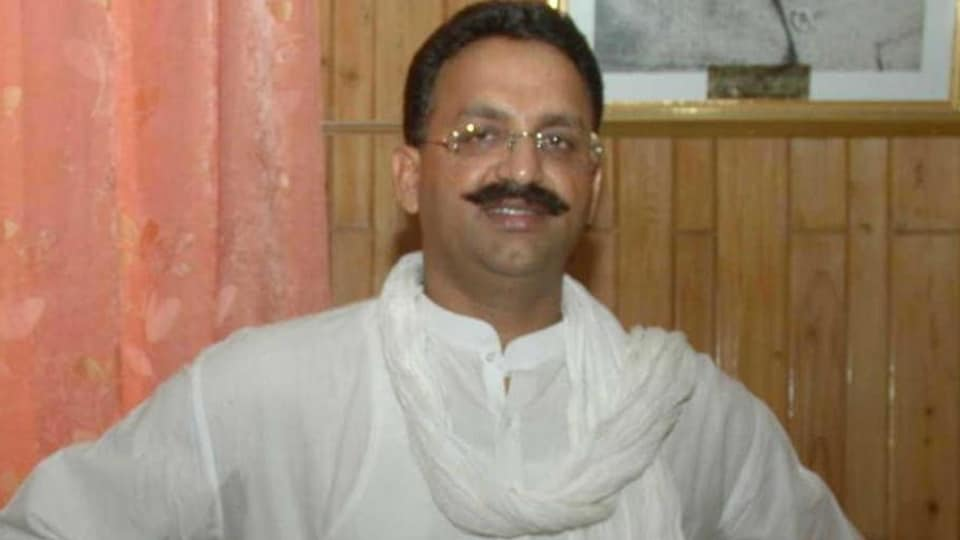 . The CBI later charged Mukhtar Ansari, an alleged gangster-turned-politician now with the Bahujan Samaj Party, with planning the murder. Ansari, who has over 40 criminal cases registered against him, has been lodged in jail since 2005.  (HT file photo)