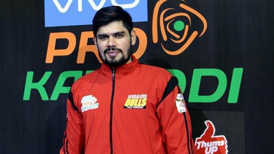 Bengaluru Bulls captain Rohit Kumar