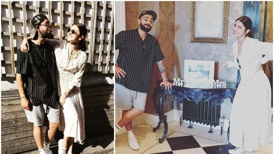 Anushka Sharma and Virat Kohli shared some candid photos from their time in London.
