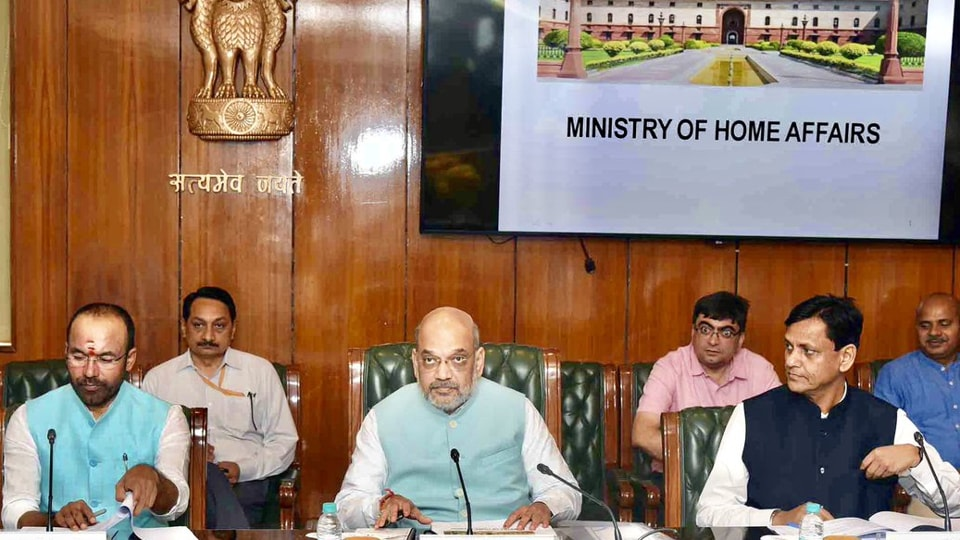 The home ministry works on a two-pronged strategy of development and police action to counter the menace of left-wing extremism.  (Photo @HMOIndia)