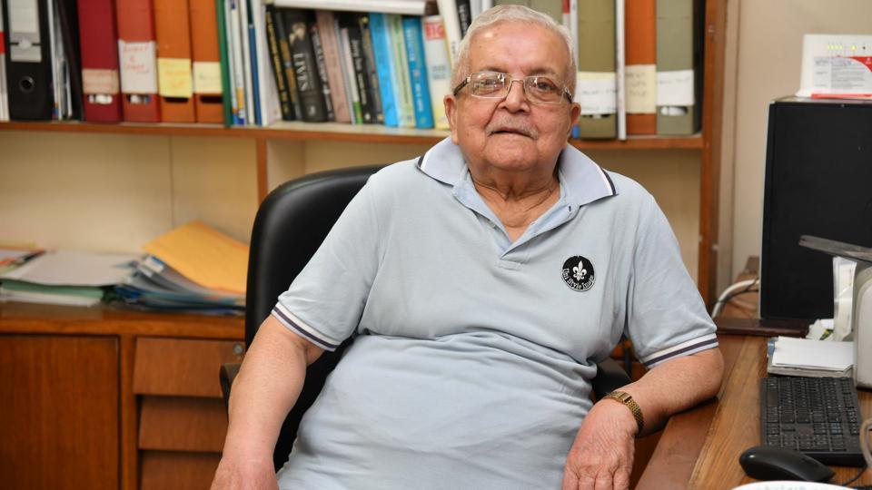 Chandra Mohan, 86, was a managing director at Punjab Tractors Ltd.