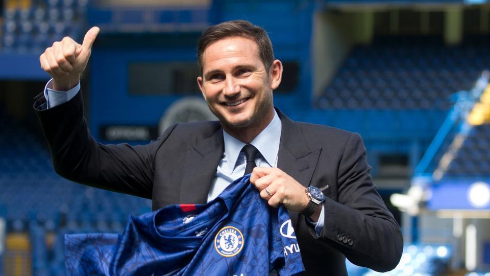 Chelsea's newly appointed English head coach Frank Lampard.