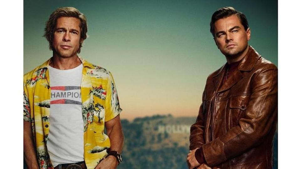 Brad Pitt and Leonardo DiCaprio in a still from Once Upon A Time in Hollywood.