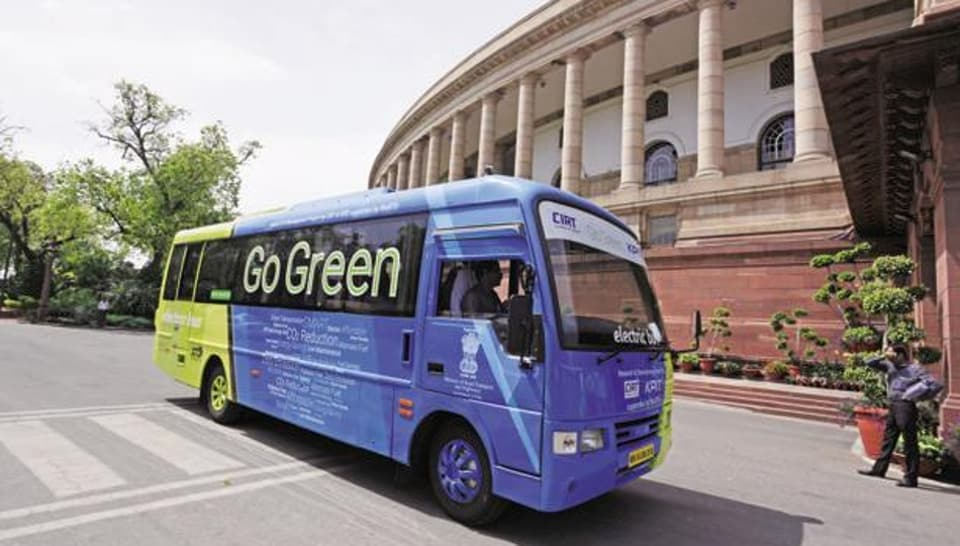 In her Budget speech, finance minister Nirmala Sitharaman said the government has moved the Goods and Services (GST) Tax council to lower the rate on electric vehicles from 12% to 5%.