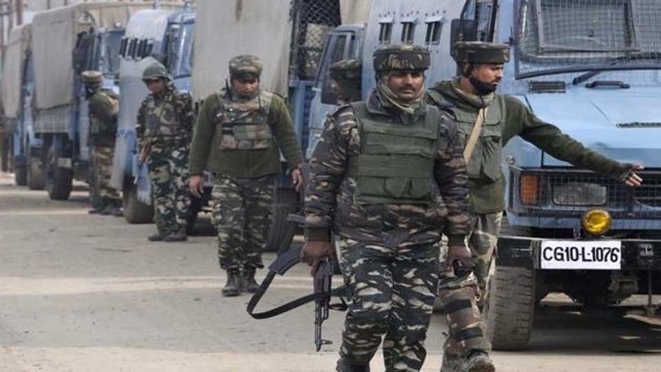 The forces retaliated, ensuing in an encounter in which one terrorist was killed, the official said, adding the body was recovered along with arms and ammunition.