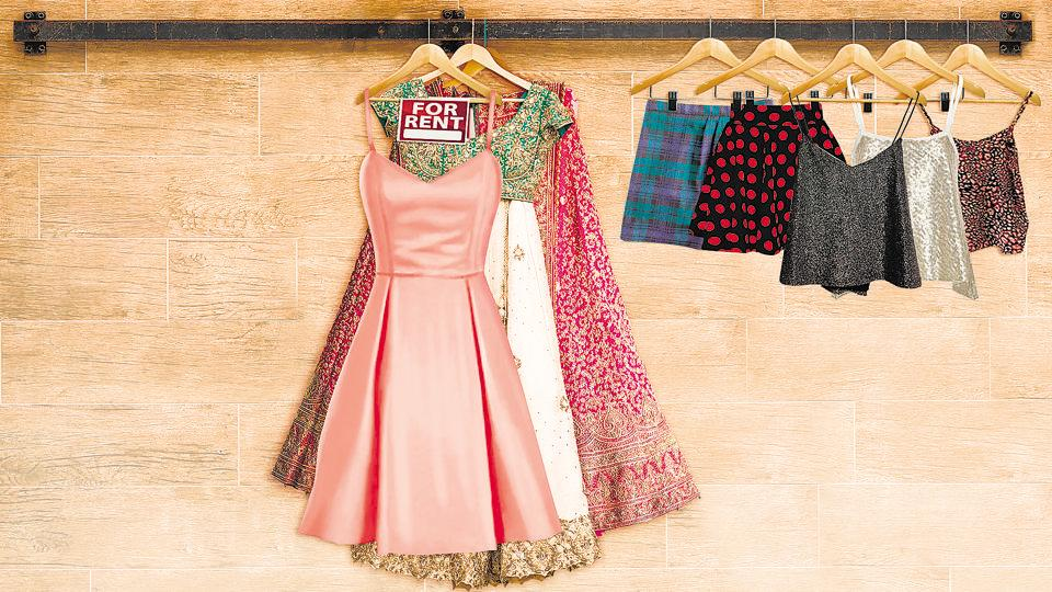 Renting clothes is pocket-friendly and also solves storage worries.