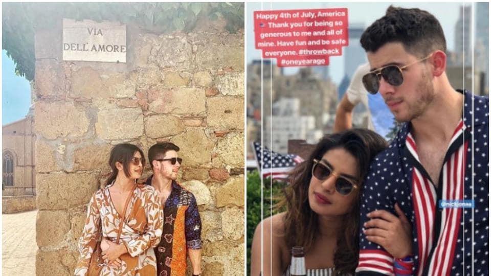 Priyanka Chopra and Nick Jonas are in Italy on a holiday.