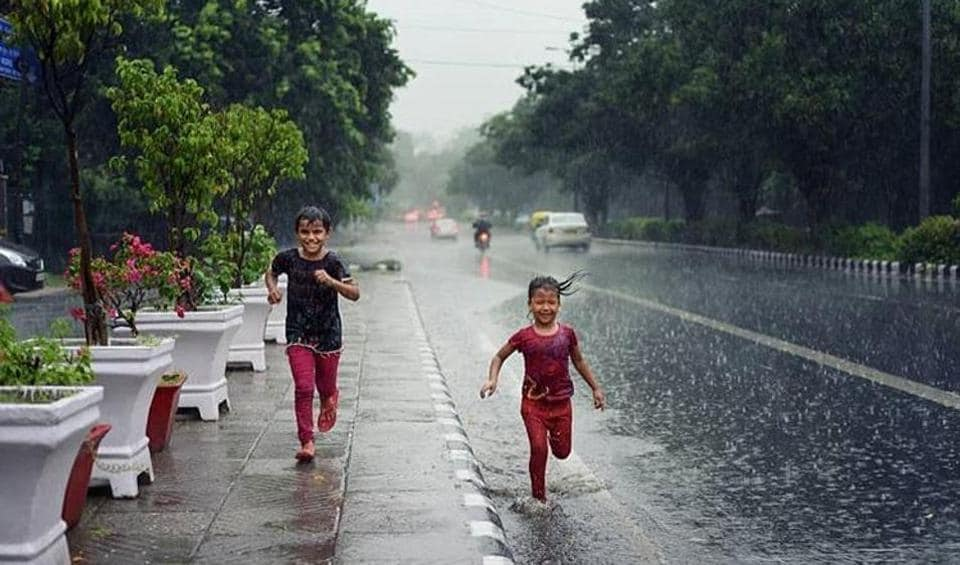 Many people took to Twitter to show their happiness about the rainfall.
