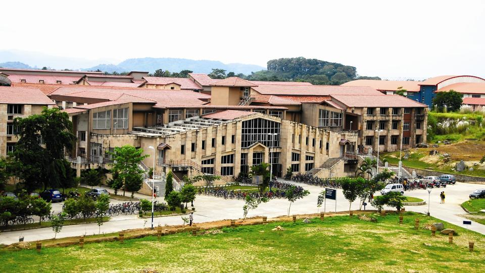 Academic Complex of  IIT-Guwahati