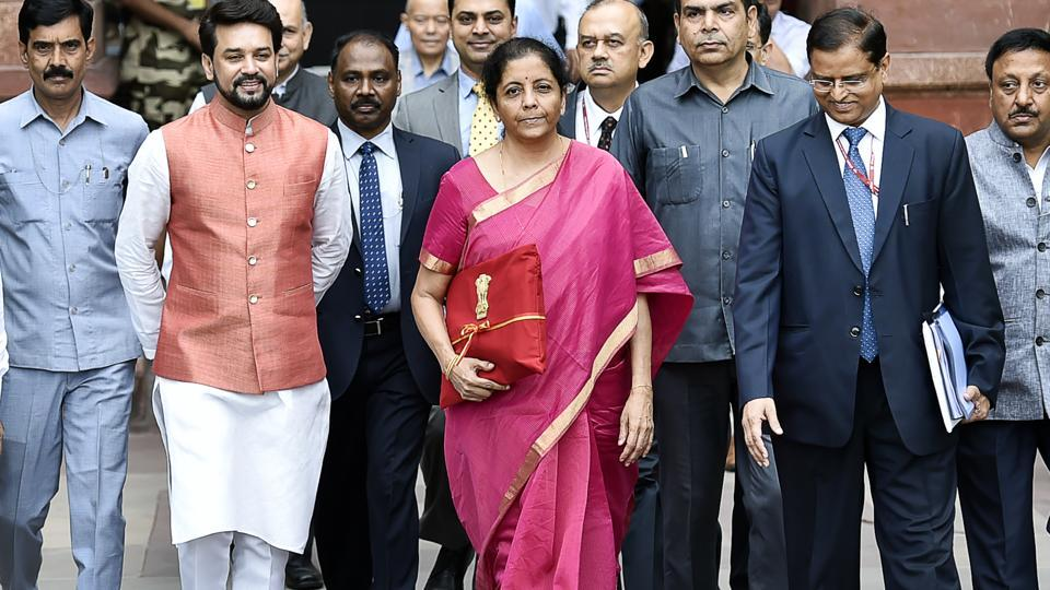 Minister of Finance Nirmala Sitharaman