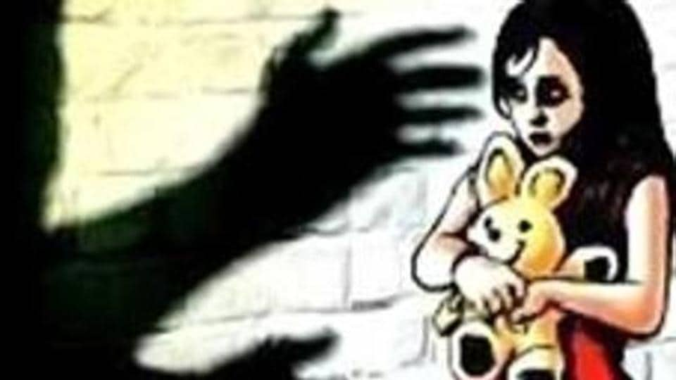 A 5-year-old girl was allegedly gang-raped by two of her minor neighbours near her house in southwest Delhi's Kapashera on Tuesday night.