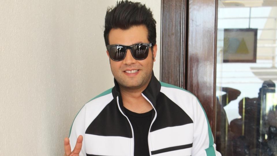 Actor Varun Sharma at Juhu in Mumbai.