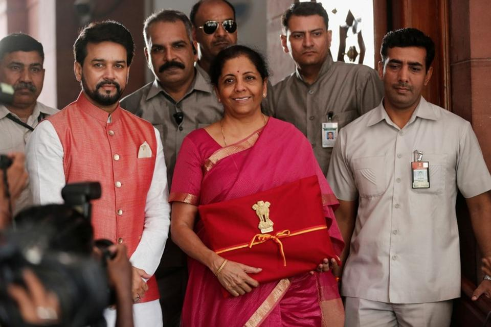 Budget 2019: Nirmala Sitharaman did not announce any changes to the income tax slabs for the middle class, recalling that tweaks made during the interim budget and earlier had alleviated the tax burden on small and medium income-earners.