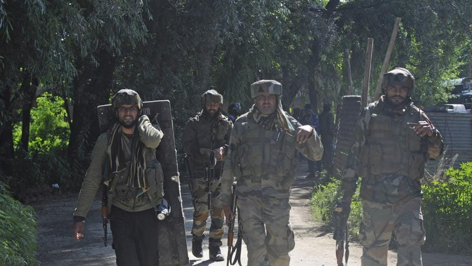 A police spokesperson said a cordon and search operation was launched by police and security forces in Batpora-Narwani area of Imam Sahib in Shopian on a credible input about the presence of militants.