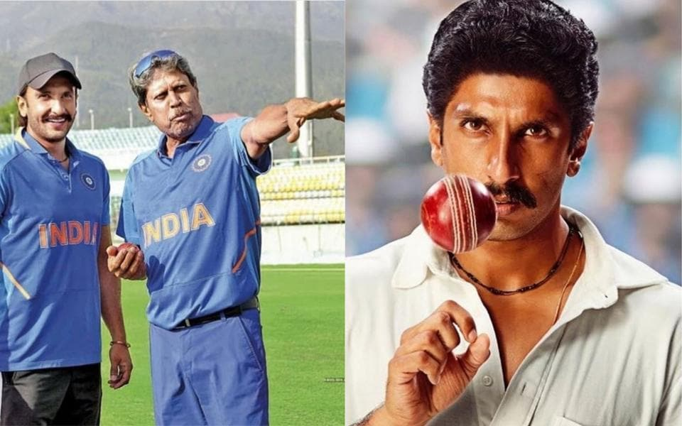 Ranveer Singh unveils his look as Kapil Dev in 83