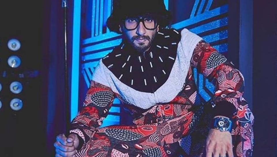 Ranveer Singh is known for his quirky fashion sense.