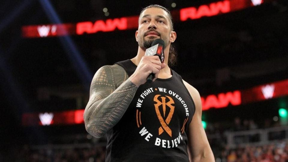 Roman Reigns talks about the difference between AEW and WWE.