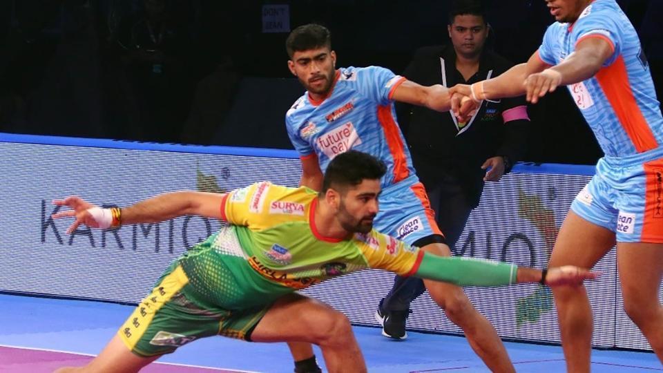 Pardeep Narwal scored 233 raiding points last season.