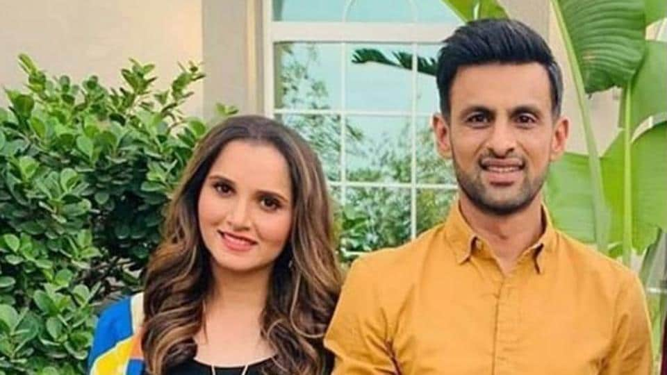 Sania Mirza with Pakistan cricket Shoaib Malik, who announced his retirement from ODIs on Friday
