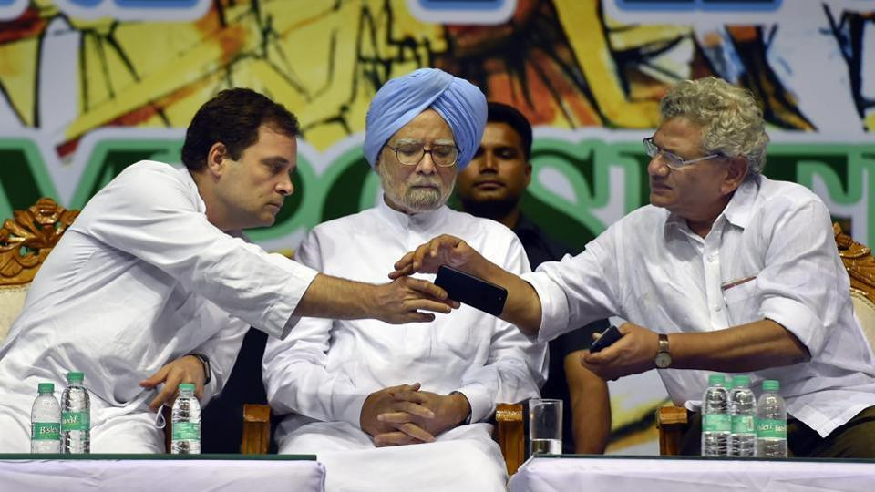 The Congress and the Left parties suffered huge setbacks in the April-May Lok Sabha elections, with the former managing to win only two seats and the latter drawing a blank.