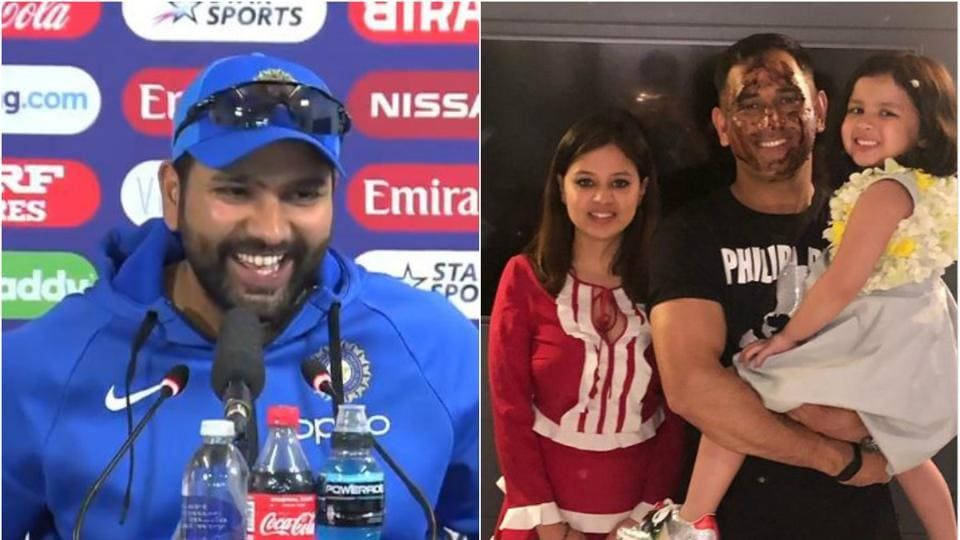 The best reaction came from India vice-captain Rohit Sharma, when he asked about Dhoni's birthday plans