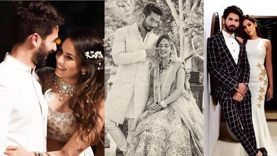 Shahid Kapoor-Mira Rajput complete fours of married life.