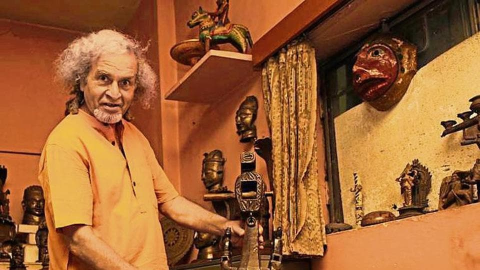 Even with its peeling walls and creaking doors, sexagenarians BN Aryan and Subhashini Aryan have turned their house into an art haven .