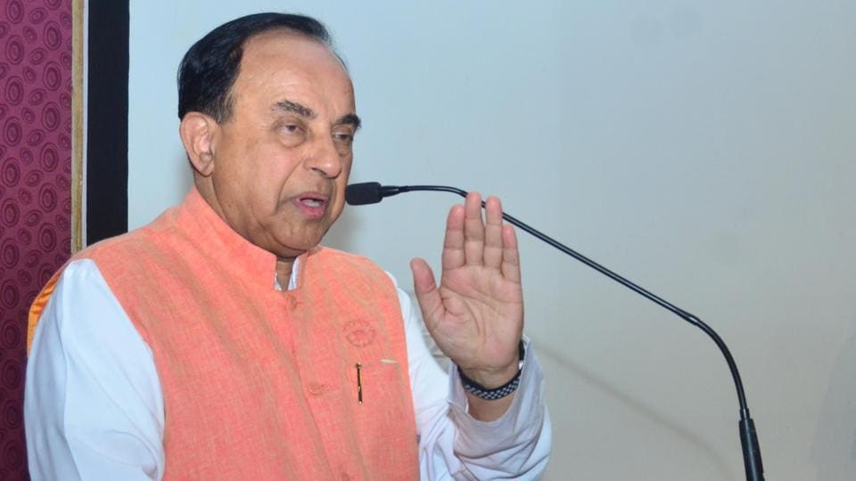 Chhattisgarh police registered a case on Saturday against BJP MP Subramanian Swamy for allegedly insulting Rahul Gandhi.