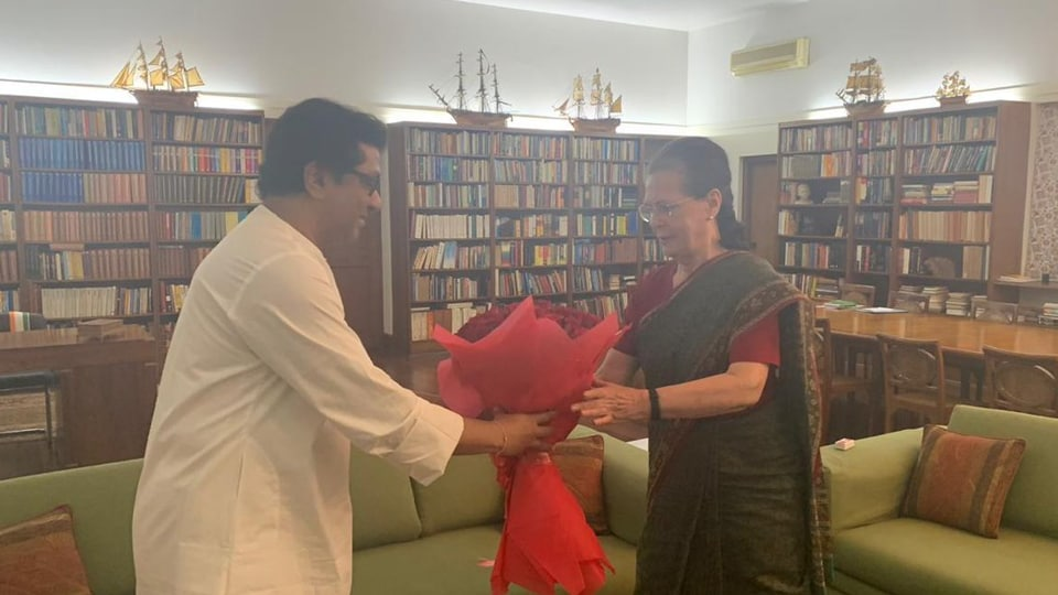 In their first ever such meeting, the two leaders are said to have discussed the upcoming assembly elections in Maharashtra. (ANI photo)