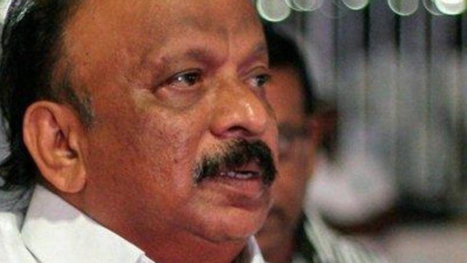 Shivajinagar Congress MLA R Roshan Baig submitted his resignation.