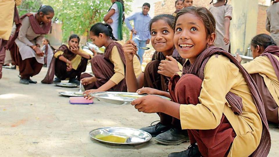 punjab govt,punjab mid-day meal programme,HRD ministry