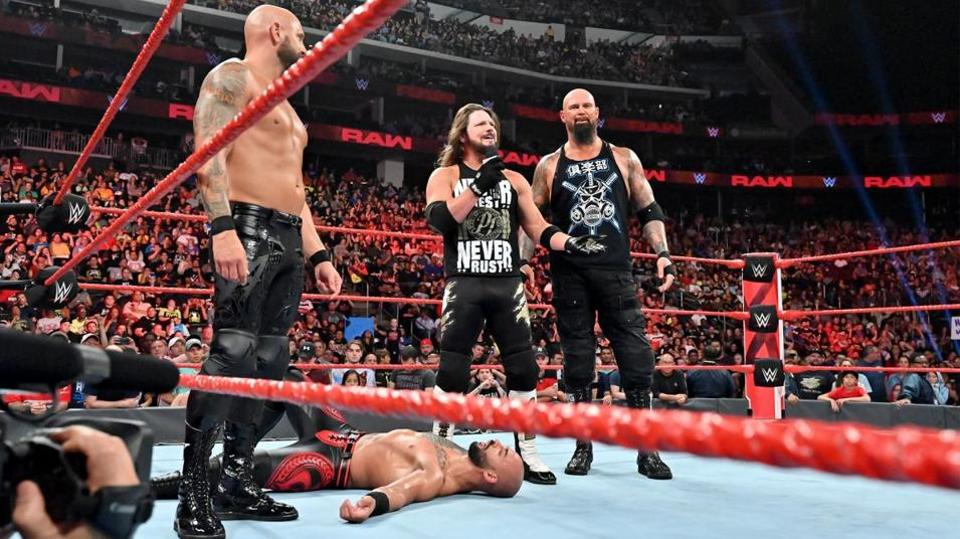AJ Styles turning heel and reforming The Club could be a boon for WWE RAW