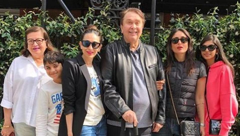 Karisma Kapoor shared a new family picture on social media.