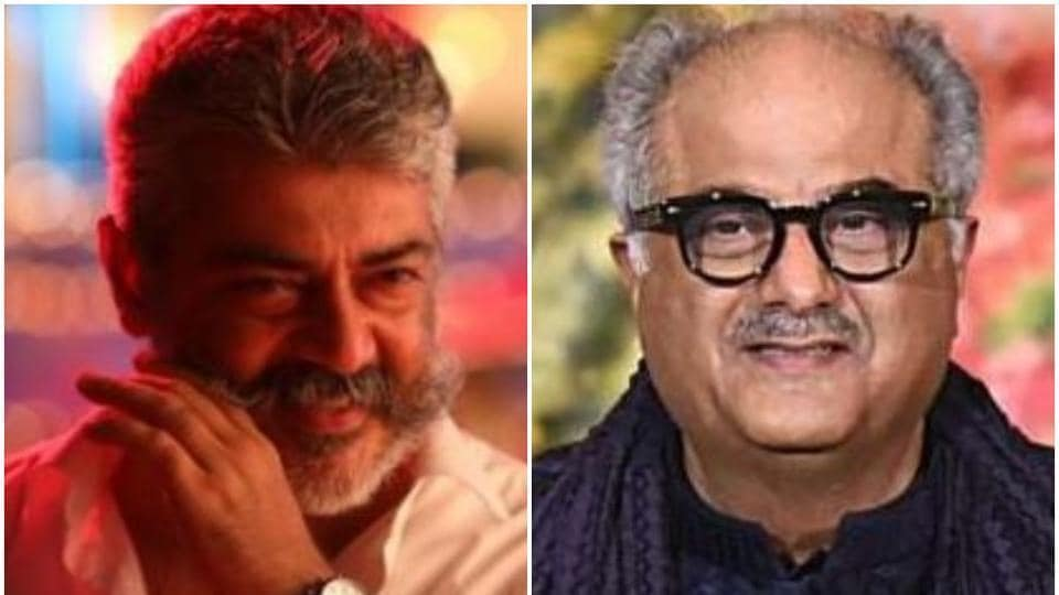 Ajith and Boney Kapoor are working together in Nerkonda Paarvai, Tamil remake of Pink.
